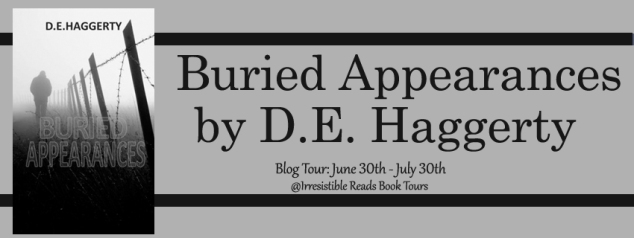 Banner - Buried Appearances by D.E. Haggerty