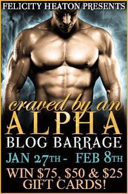 Felicity Heaton's Craved by an Alpha Blog Barrage