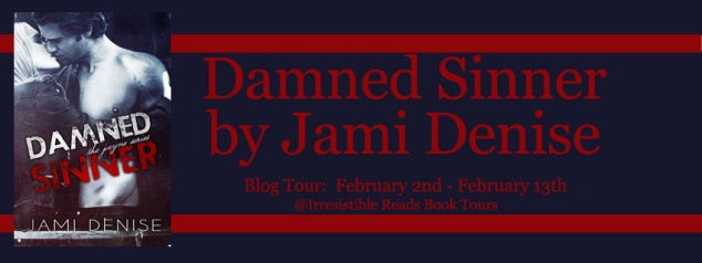 Banner - Damned Sinner by Jami Denise
